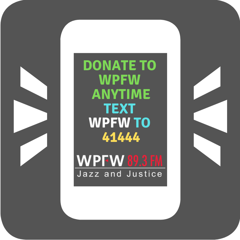 DONATE WPFW ANYTIME TEXT DONATION Updated
